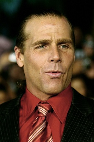 Shawn Michaels Hintergrund with a business suit and a suit called Shawn Michaels