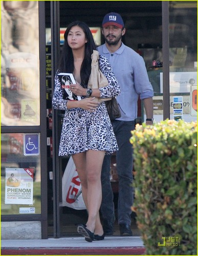 Shia & Karolyn out in LA