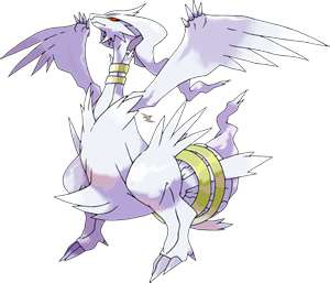 Legendary Pokemon [X,EX OR EXA] wolpeyper with anime titled Shiny Reshiram