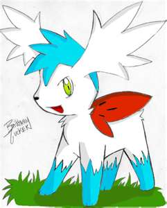 Shiny Sky-Form Shaymin