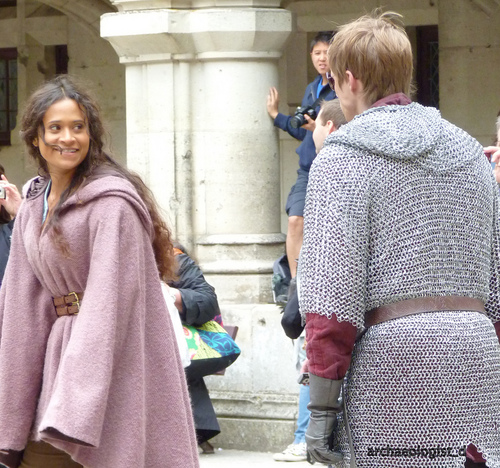 So Loving the Riding Coat - merlin-on-bbc Photo
