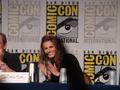Stana at Comic Con