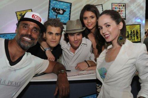TVD Cast at Comic Con 2011