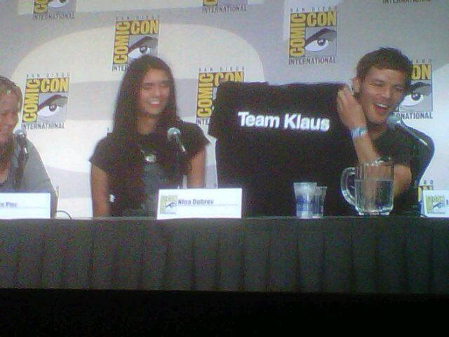 TVD Panel at Comic Con