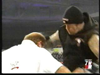 The Undertaker attacks Arn Anderson - (2002)
