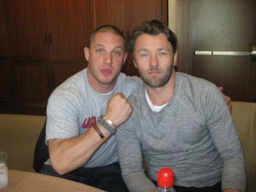 Tom Hardy & Joel Edgerton Comic-Con