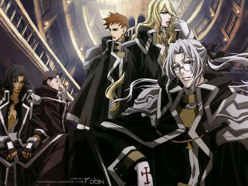Trinity Blood Guys