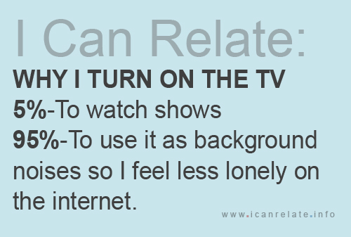 Turn on the TV