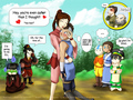 Ty Lee and Sokka/ Avatar/ Aang and Katara - avatar-the-last-airbender fan art