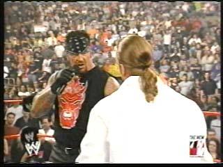 Undertaker, Brock Lesnar & Triple H Segment - (2002)