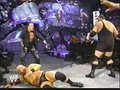 Undertaker tries to Save Stephanie gets attacked Von the Big Zeigen & A-Train - (2003)