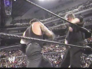 Undertaker vs Mr. McMahon in a Buried Alive Match - (2003)