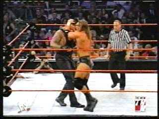 Undertaker vs Triple H for the #1 Contender's Match - (2002)