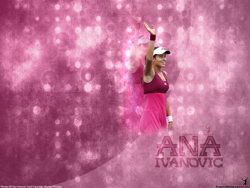 Ana Ivanović in Gem Stone