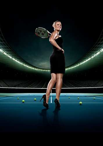 Caroline Wozniacki is an Arena Beauty