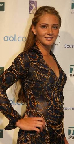 Anna Chakvetadze & her Bondage Outfit