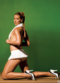Ashley Harkleroad introduces Tennis to Playboy - wta photo
