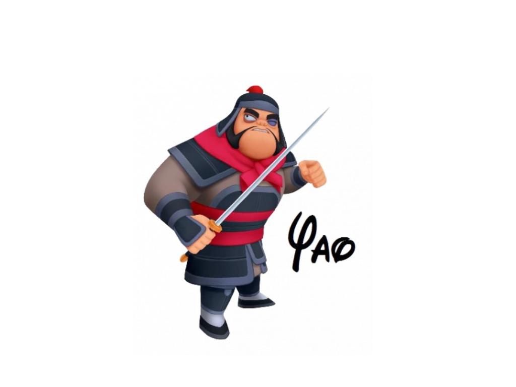 Mulan Characters Yao