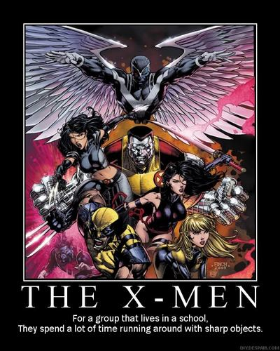 X-Men Motivational Poster