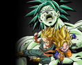 broly, goten and trunks