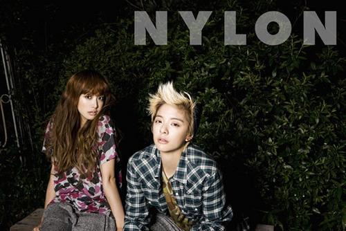 에프엑스 Victoria 에프엑스 Amber Nylon Magazine August 2011