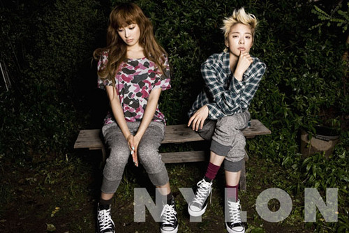 F(x) wallpaper called f(x) Victoria f(x) Amber Nylon Magazine August 2011