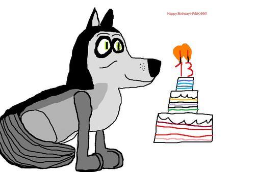 happy 13th Birthday.
