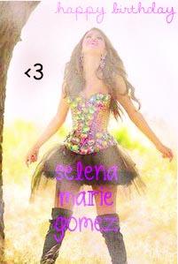 happy bday selena