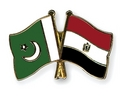 pakistan and egypt flags