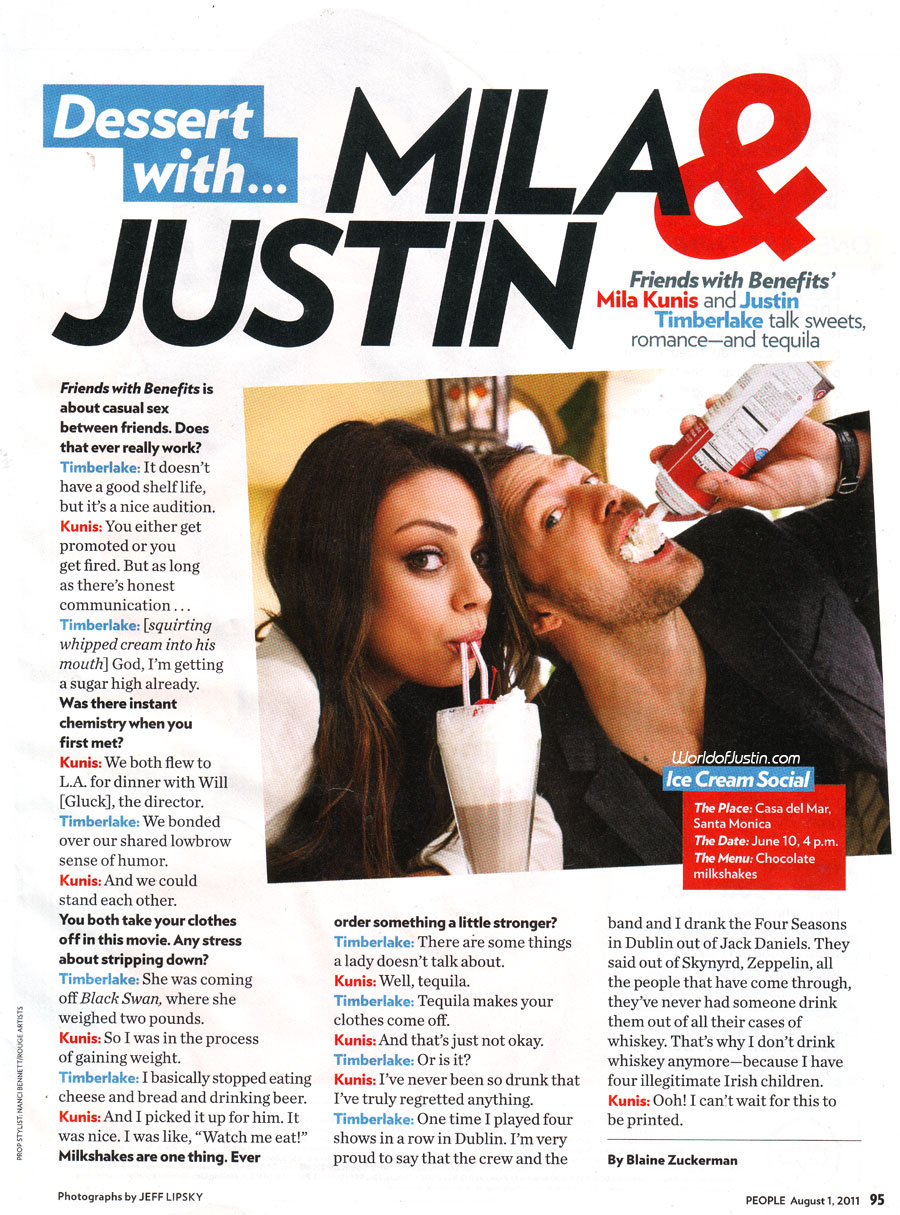 Http Fanpop Com Clubs Justin Timberlake Images 23943692 Title People Magazine Scans Photo