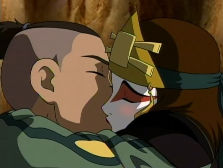 Sokka and suki wedding