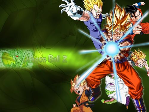 dbz rampage wallpaper titled the gang