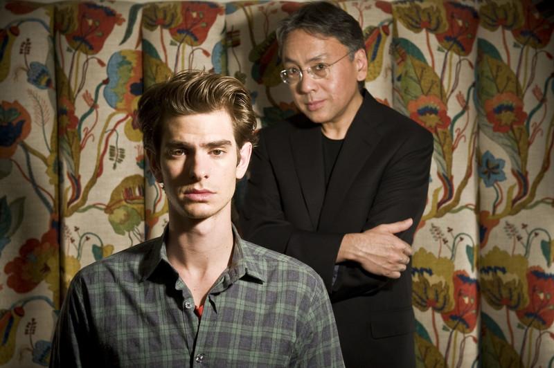 with Japanese author, Kazuo Ishiguro (Never Let Me Go)