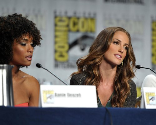 """""""Charlie's Angels"""" Comic-Con 2011 panel (July 23)."""