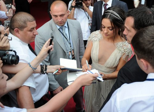 """Friends With Benefits"" Premiere In Moscow 26 07 2011"