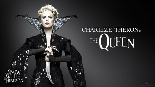 The Queen - Charlize Theron (Hi-Res) - snow-white-and-the-huntsman Photo