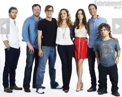 'Knights Of Badassdom' 2011 Comic Con Portrait Featuring Jimmi Simpson