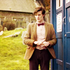 The Eleventh Doctor photo probably containing a business suit and a street titled 11th Doctor