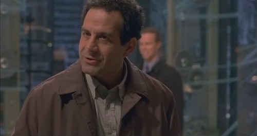 Tony Shalhoub wallpaper probably with a pea jacket, a trench coat, and a greatcoat called 13 Ghosts
