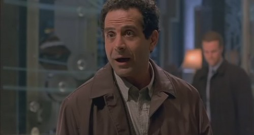 Tony Shalhoub wallpaper probably containing a pea jacket, a business suit, and a greatcoat titled 13 Ghosts