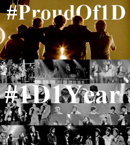 1D = Heartthrobs (Enternal Love) Soo Proud, Happy 1st Anniversary! 100% Real ♥