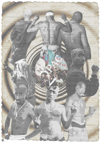 2pac audio visual poster