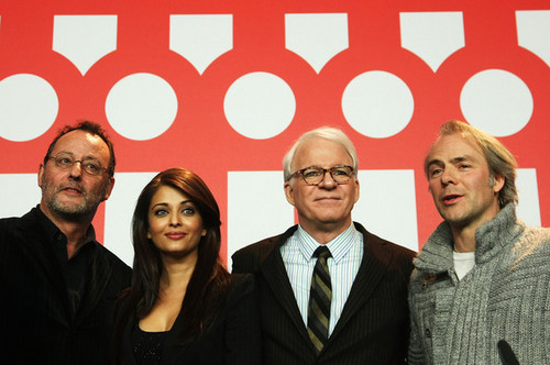 59th Berlin Film Festival: roze panter, panther 2 - Press Conference