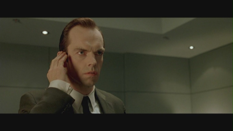 Agent Smith in 'The Matrix'