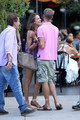 Alessandra Ambrosio and Stewart Shining leave the Standard Hotel in NY, Jul 26