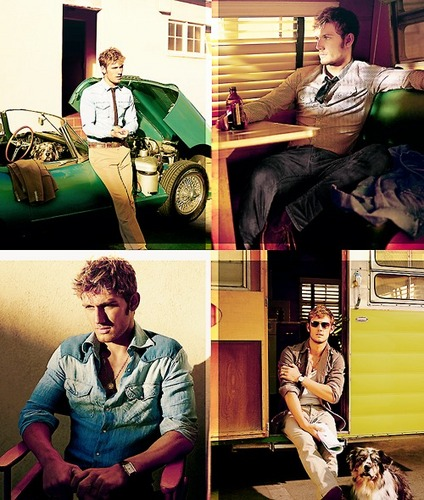 Alex Pettyfer hình nền probably with a newspaper, a living room, and a family room entitled Alex Pettyfer