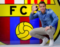 Alexis Sanchez in Barcelona offices - fc-barcelona photo