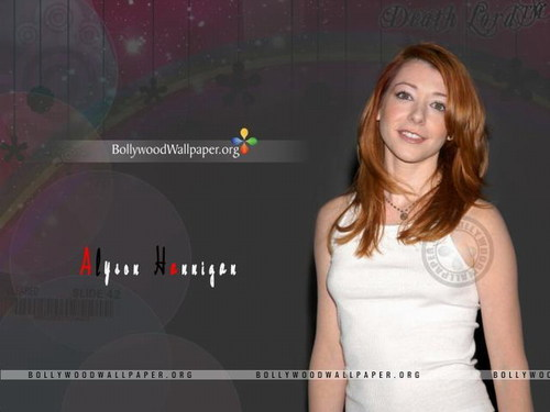 Alyson Hannigan wallpaper possibly with a portrait titled Alyson Hannigan