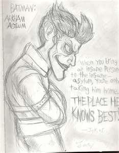 Arkham Asylum Sketch