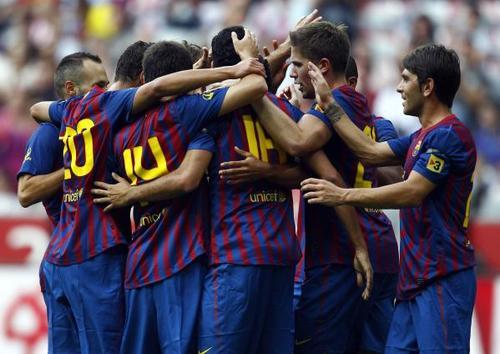Audi Cup 2011: FC Barcelona - Internacional (2-2, pen 4-2)